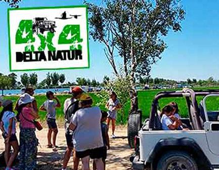 Excursión 4×4 por el Delta del Ebro