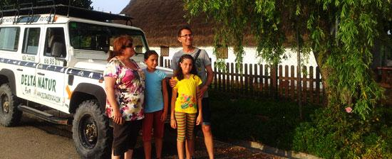 Excursiones familias ametlla mar delta natur