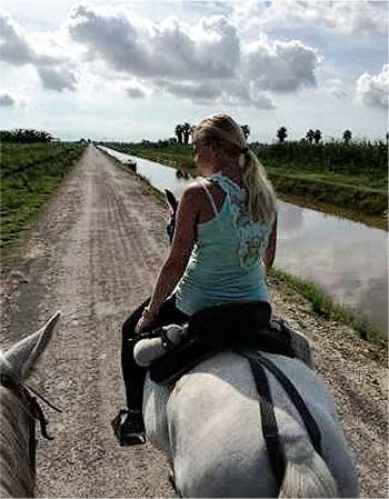 Excursion a caballo Costa Dorada Delta Ebro