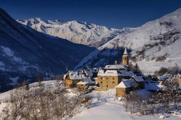 Navidad en el Pirineo