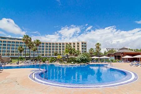 piscina hotel ametlla mar