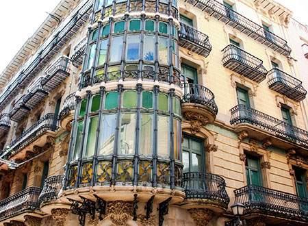 balcon modernista