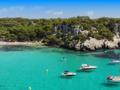 Take advantage of the weekend to make a trip to Menorca