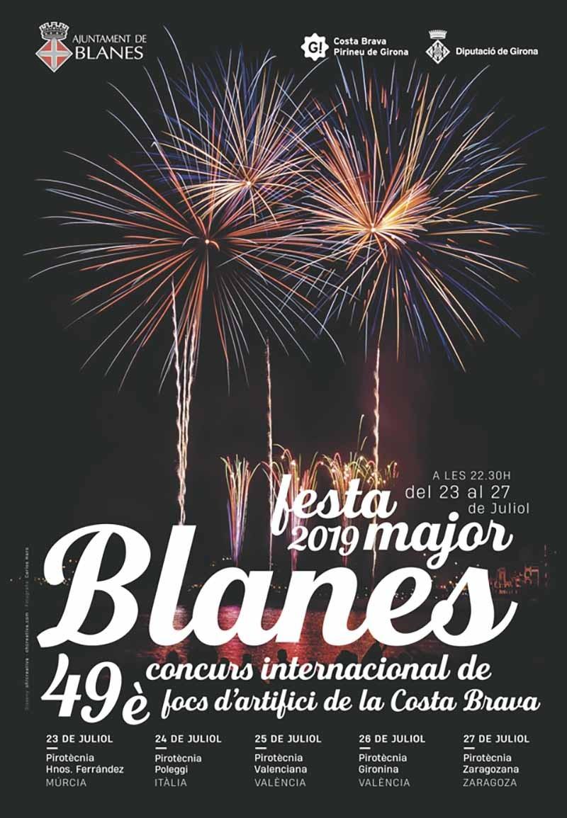 Fuegos de Blanes 2019