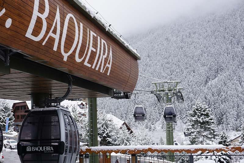 Esquiar en los Pirineos